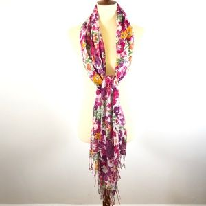 SAACHI Accessories - SAACHI Floral Scarf Made in India